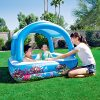 DMGF-Inflatable-Pool-Kids-Swim-Center-Sun-Shade-Pool-With-Electric-Air-Pump-Garden-Family-Paddling-Pool-Summer-Children-Play-Ball-Pool-58X58x48in-0-0