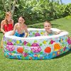 DMGF-Kids-Swim-Center-Inflatable-Pool-With-Pump-Summer-Family-Paddling-Pool-Ocean-Ball-Pool-Garden-Wave-Above-Ground-Pools-75X70X24-0-0