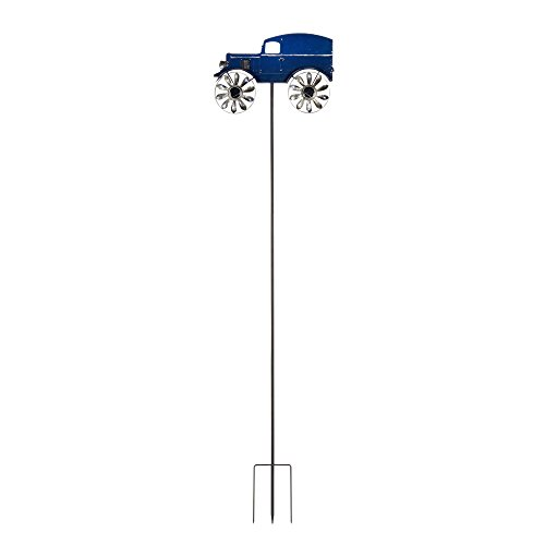 Delivery-Truck-Solar-Wind-Spinner-Windmill-0-1