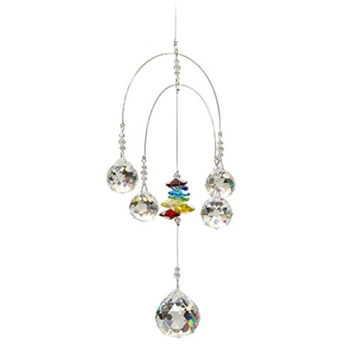 Discount4product-Branded-Double-Rainbow-Mobile-Chakra-5-Crystal-Ball-Attached-Rainbow-Maker-Hanging-Crystal-Suncatcher-Ornament-Outdoor-Dcor-Car-Decoration-Porch-Decor-0-0