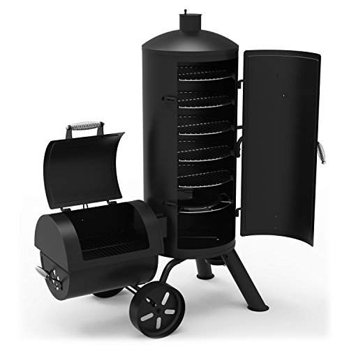 Dyna-Glo-Signature-Series-DGSS1382VCS-D-Heavy-Duty-Charcoal-Smoker-Grill-0