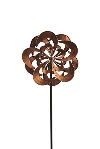Evergreen-Garden-Rotating-Bronze-Powder-Coated-Metal-Kinetic-Topper-0