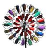 Fancy-Gardens-84-inch-tall-Multi-Colored-Garden-Wind-Spinner-Decorative-Kinetic-Wind-Mill-Unique-outdoor-lawn-and-garden-decor-Lawn-Ornament-0