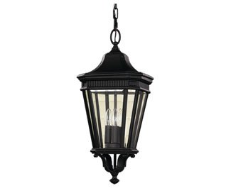 Feiss-OL5411BK-LED-Cotswold-Lane-LED-Outdoor-Lighting-Pendant-Lantern-Black-1-Light-10-W-x-22-H-0-0
