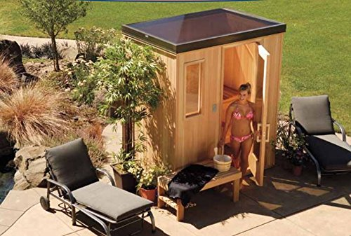 Finlandia-Outdoor-Sauna-5-x-7-with-Starline-Skylight-Roof-0