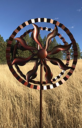 Fire-Wheel-Style-Kinetic-Wind-Garden-Spinner-0-1