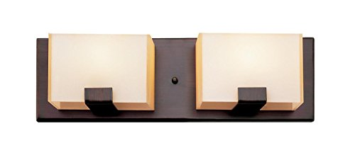GHP-Rubbed-Oil-Bronze-and-Acrylic-Cube-2-Light-Halogen-Bath-Wall-0