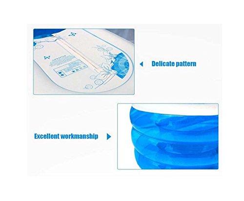GONGFF-Elliptical-Storage-Bath-Drain-Valve-Can-Sit-Ultra-Big-Warm-Family-Bubble-Bath-Tub-Inflatable-Bathtub-Child-0-2