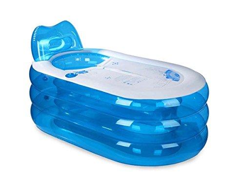 GONGFF-Elliptical-Storage-Bath-Drain-Valve-Can-Sit-Ultra-Big-Warm-Family-Bubble-Bath-Tub-Inflatable-Bathtub-Child-0