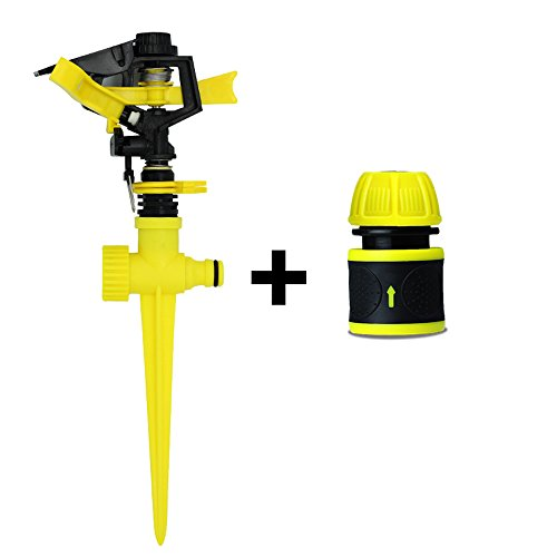 Garden-Sprinkler-Spike-Lawn-Grass-Adjustable-Rotating-Water-Sprayer-For-Coverage-Large-Area-Leak-Free-Design-Irrigation-SystemYellow-0