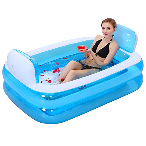 Giant-Folding-Inflatable-Bath-Tub-Adult-SPA-Free-Standing-Comfortable-BathtubThicken-Home-Massage-Tub-Soaking-with-Electric-Air-Pump-Double-Backrest-200-Liter-0-1