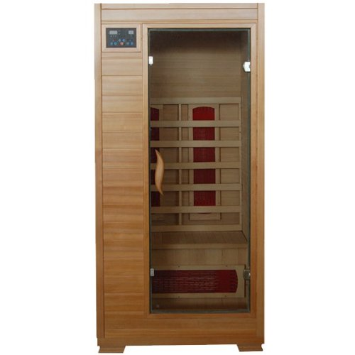 Hanko-1-2-Person-Pre-built-FAR-Infrared-Sauna-Highest-Quality-Hemlock-Construction-3-Premium-Ceramic-Heaters-Mp3cdstereo-Speakers-Built-in-Easy-Control-Panels-5-Year-Warranty-Easy-Construction-0-0