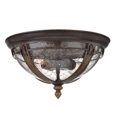 Hinkley-2903RB-GU24-Traditional-Two-Light-Flush-Mount-from-Key-West-Collection-in-BronzeDarkfinish-0