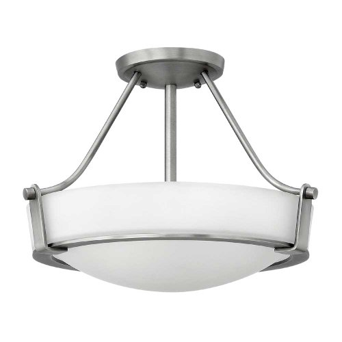 Hinkley-3220AN-LED-Transitional-One-Light-Semi-Flush-Mount-from-Hathaway-collection-in-Pwt-Nckl-BS-Slvrfinish-0