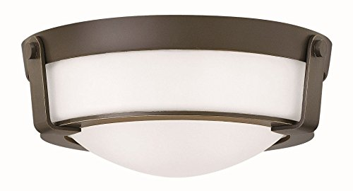 Hinkley-3223OB-WH-GU24-Transitional-Two-Light-Flush-Mount-from-Hathaway-Collection-in-BronzeDarkfinish-0