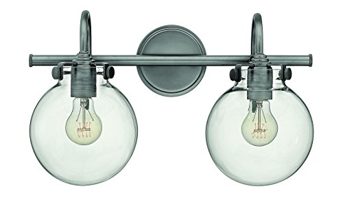 Hinkley-Lighting-50024AN-Congress-11-12H-2-Light-Bath-Lighting-with-Clear-Glas-0