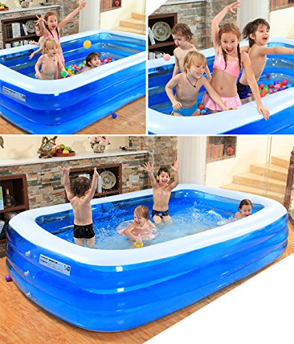 Inflatable-bathtub-TYCGY-Childrens-Inflatable-Pool-Family-Extra-Large-Marine-Ball-Pool-Thicken-Household-Family-Paddling-Pool-Multifunction-0-2
