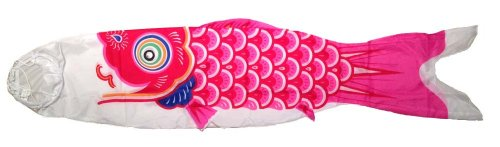 Japanese-Red-Koinobori-Windsock-10-foot-TKN009R-0