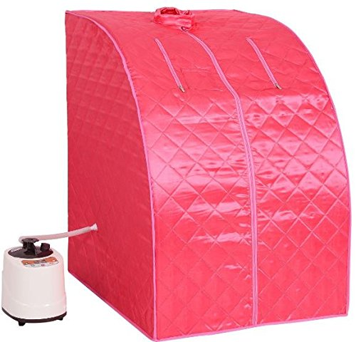 KA-Company-Portable-2l-Steam-Sauna-Spa-Full-Body-Slimming-Loss-Weight-with-Chair-Pink-0-0