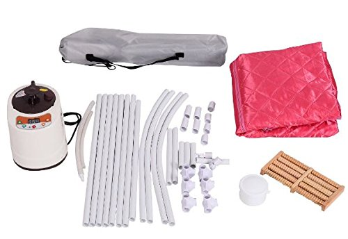 KA-Company-Portable-2l-Steam-Sauna-Spa-Full-Body-Slimming-Loss-Weight-with-Chair-Pink-0-1