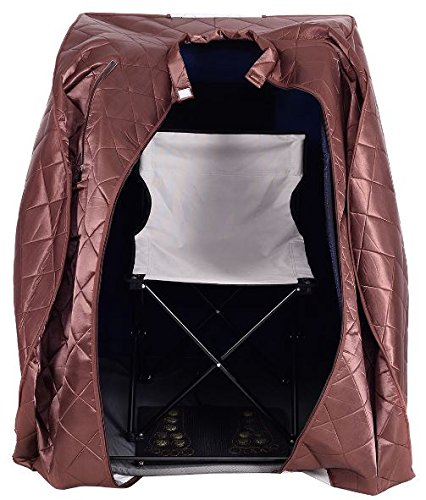 KA-Company-Portable-Far-Infrared-Sauna-Body-Slimming-Fitness-Heating-Fat-Loss-Burning-60-F-140-F-with-Chair-Coffee-0-0
