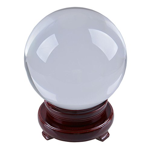 LONGWIN-150mm-59-inch-Divination-Crystal-Ball-Glass-Globe-Sphere-Free-Wooden-Stand-0