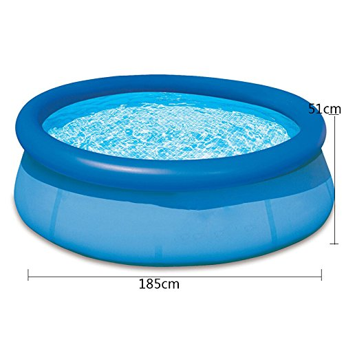 LZTET-Fast-Set-Round-Inflatable-Family-Swimming-Pool-Folding-Bathtub-Garden-Outdoor-Swimming-Playing-Pool-Paddling-Pool-Blue-Size-Optional-0-1