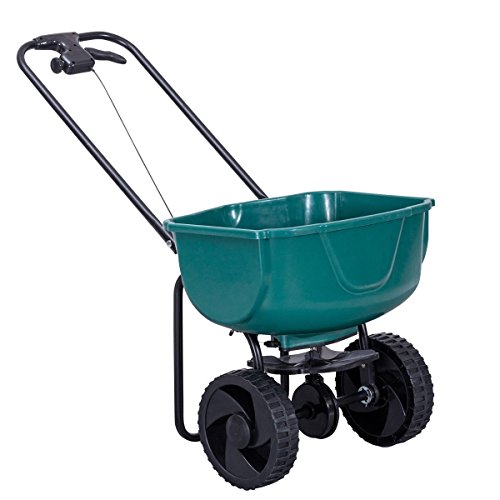 Lawn-Garden-Fertilizer-Spreaders-Seeder-Push-Walk-Behind-Broadcast-With-Ebook-0