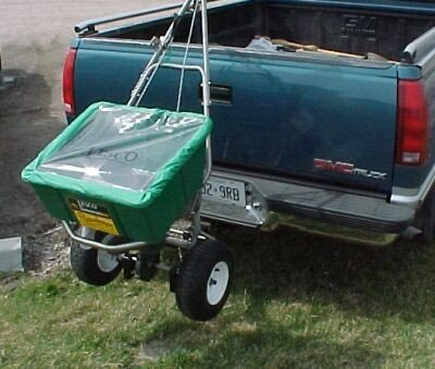 Lesco-101186-High-Wheel-Walk-Behind-Fertilizer-Spreader-with-Lesco-Spreader-Caddy-Bundle-2-Items-0-2