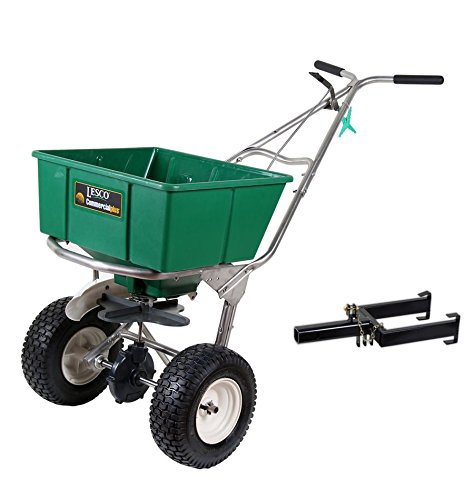 Lesco-101186-High-Wheel-Walk-Behind-Fertilizer-Spreader-with-Lesco-Spreader-Caddy-Bundle-2-Items-0