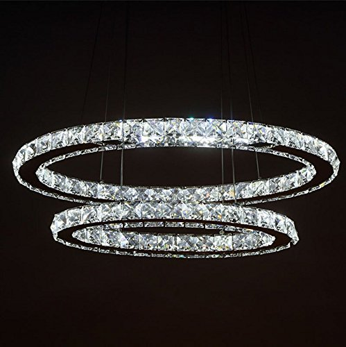 LightInTheBox-Dimmable-LED-Crystal-Oval-Pendant-Lights-Lamps-Fixtures-Galaxy-Crystalline-Light-2-Ring-Indoor-Cristal-Lighting-Modern-Lustre-Lamps-with-Remote-Control-0-2