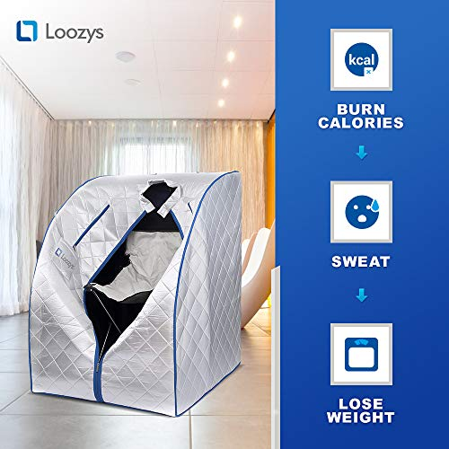 Loozys-Rejuvenator-Portable-Infrared-Home-Sauna-Spa-One-Person-Sauna-for-Detox-Weight-Loss-0-2