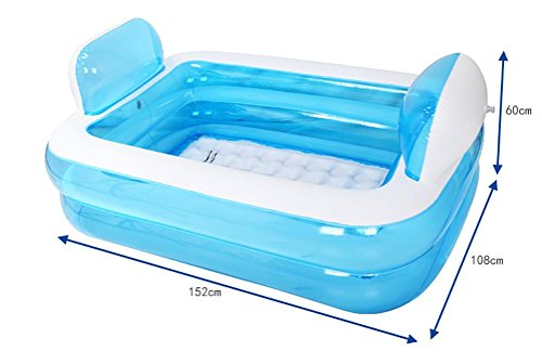 NUOAO-Children-Inflatable-Family-Pool-Swimming-Pool-Adult-Bathtub-0-0