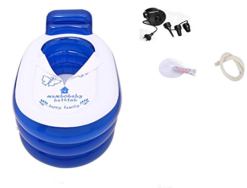 NUOAO-Foldable-Durable-Adult-SPA-Inflatable-Bath-Tub-with-Electric-Air-Pump-0-0