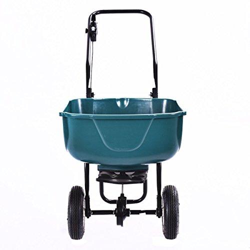 New-Seed-Grass-Spreader-Fertilizer-Broadcast-Push-Cart-Lawn-Garden-Home-Backyard-0-1