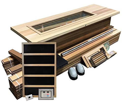 Northern-Lights-Group-DIY-Sauna-Kit-4-x-5-Infared-Sauna-Room-Package-2400-Watt-Infared-Heater-0-0