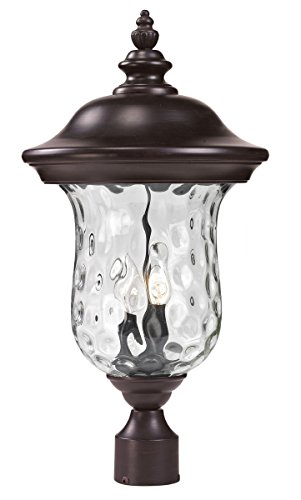Outdoor-Accessory-2-Light-With-Bronze-Finish-Aluminum-Candelabra-Base-Bulb-10-inch-120-Watts-0