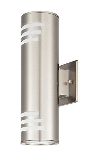 Outdoor-Wall-Light-Waterproof-Wall-Lamp-FixtureOutdoor-Wall-Sconce-2-Lights-Wall-Mount-LightStainless-Steel-304-with-Toughened-Glass-UL-Listed-Suitable-for-Garden-Patio-Lights-Tengxin-0