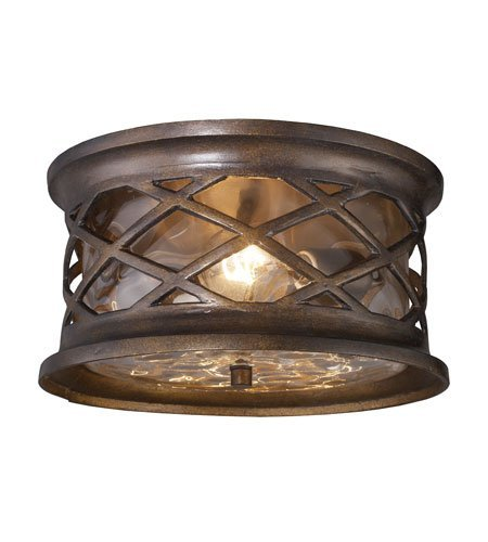 Outdoor-Wall-Sconces-2-Light-with-Hazelnut-Bronze-Finish-Medium-Base-12-inch-120-Watts-World-of-Lamp-0