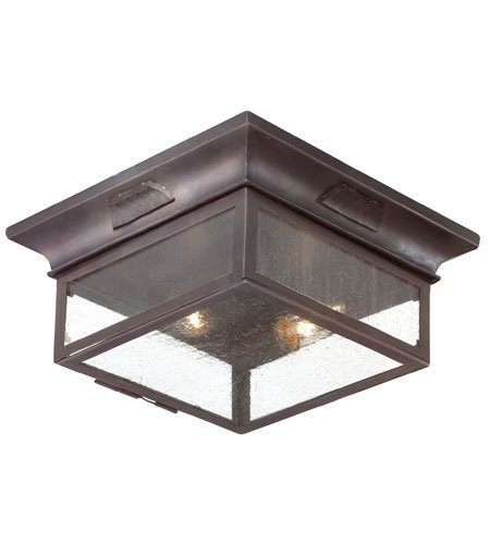 Outdoor-Wall-Sconces-2-Light-with-Old-Bronze-Finish-Hand-Forged-Iron-Material-Medium-13-inch-Wide-120-Watts-0