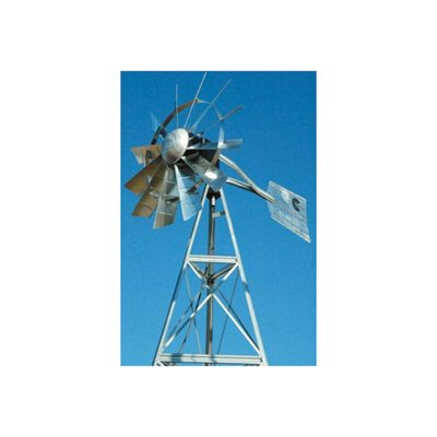 Outdoor-Water-Solutions-AWS0012-16-Feet-Galvanized-3-Legged-Aeration-System-Windmill-0