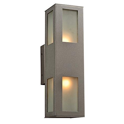 PLC-Lighting-8041-BZ-Tessa-Collection-2-Light-Outdoor-Fixture-0