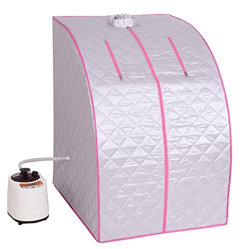Portable-2L-Steam-Sauna-Spa-With-Chair-And-Foot-Massager-Space-Saver-Home-Tent-Pot-Machine-Heater-Indoor-Therapeutic-Therapy-Spa-Full-Body-Slimming-Detox-Weight-Loss-Slim-Reduce-Stress-0-0