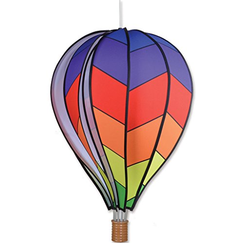 Premier-Kites-22-in-Hot-Air-Balloon-Chevron-Rainbow-0