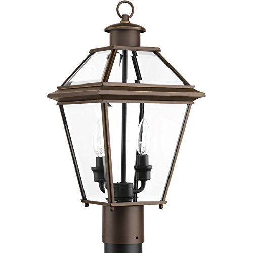 Progress-Lighting-P6437-09-Burlington-Two-Light-Post-Lantern-0