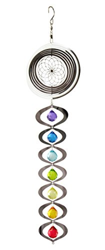 Red-Carpet-Studios-31095-Hanging-Wind-Spinner-7-Chakras-Rainbow-0
