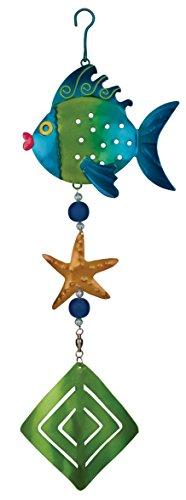 Regal-Art-Gift-Fish-Twirly-Garden-Hanging-Ornament-0