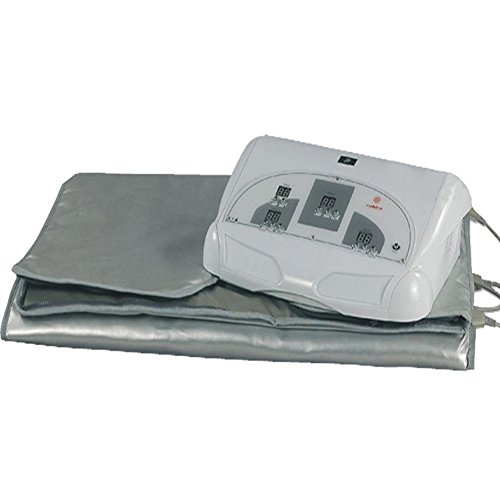 SPORTSAUNA-Improved-Infrared-Sauna-Blanket-3-Zone-Weight-Loss-Far-Spa-Detox-More-Safety-110220V-0-60-Minutes-0