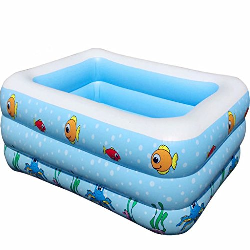SYHY-Children-Inflatable-Pool-Baby-Paddling-Pool-Children-Family-Inflatable-Pool-Bath-Tub-Pool13510550CMblue-0