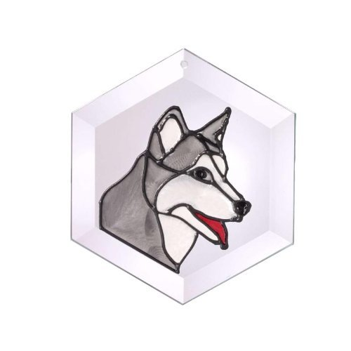 Siberian-Husky-Painted-Glass-Suncatcher-Ew-179-0